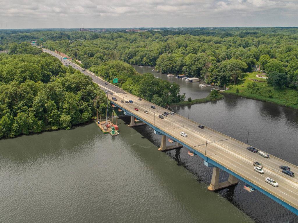 US-50 Over Severn River Bridge